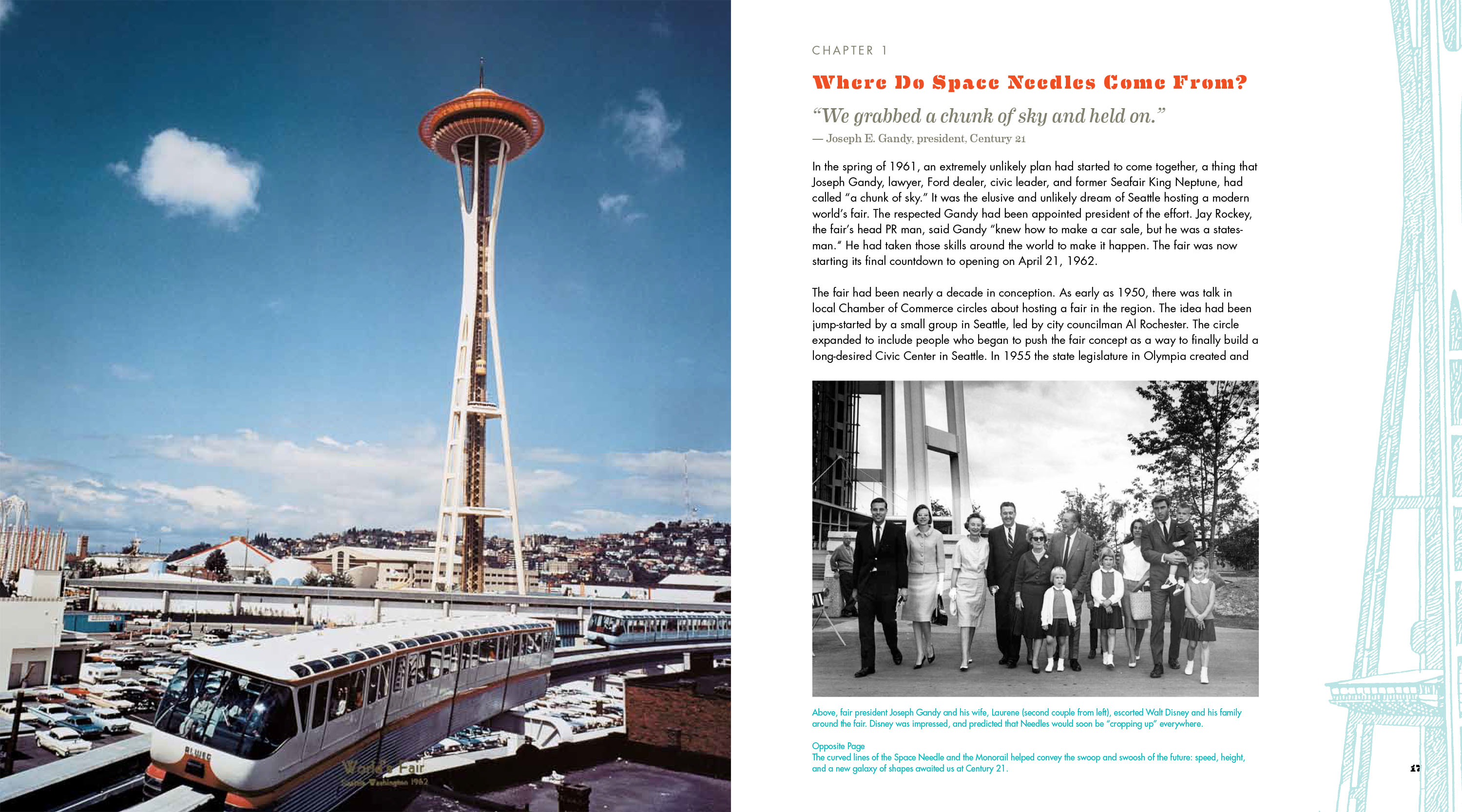 inside space needle book